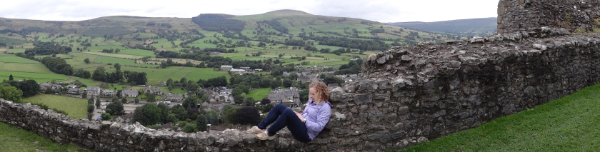 Did you get a load of that view? Peveril Castle, Derbyshire's Peak District